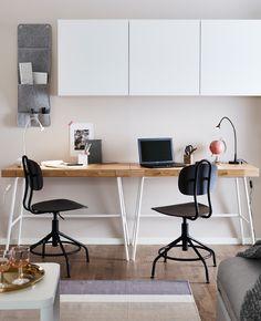 IKEA Deutschland | Der Drehstuhl KULLABERG ist im Design vom frühen Industriestil geprägt, jedoch mit modernen Funktionen ausgestattet.