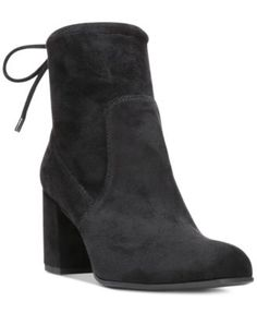 Take your casual look to a new level when you zip into the Pisces booties by Franco Sarto–with zipper and tie details to up the interest.   Microsuede upper; manmade sole   Imported   Almond closed-to