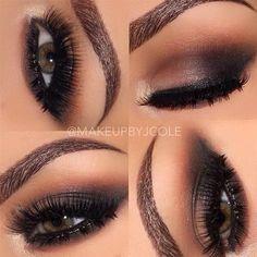Sultry Smoky Eye by @makeupbyjcole |  #smokyeye #eotd #Pampadour www.pampadour.com