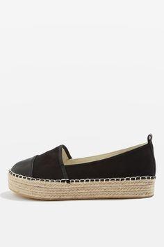 ARCHIE Toe Cap Espadrilles - Shoes- Topshop Europe