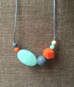 http://www.childrentoystores.com/category/teething-necklace/ Silicone Teething Necklace / Silicone Nursing by MamasVillage