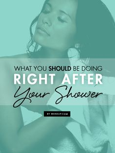 What's your post-shower routine? Are you missing some crucial steps in skincare and hair care? We've outlined what you SHOULD be doing after every shower!