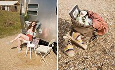 Glamping  Fotografie | Dani van Oeffelen Styling | Iris More Make up & Hair | Joëlle Romita Model | Renee Trompert Assistent & film | Jonas van der Zeeuw