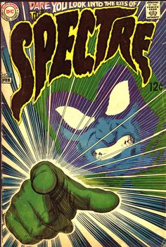 Comic Book Covers - The Spectre #8, February 1969, cover by Nick Cardy