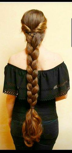 You are in the right place about wavy hair korean Here we offer you the most beautiful pictures abou Indian Long Hair Braid, Long Hair Ponytail, Short Wavy Hair, Braids For Long Hair, Beautiful Long Hair, Gorgeous Hair, Beautiful Braids, Rapunzel, Long Hair Drawing