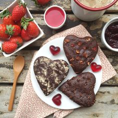 bizcochitos de chocolate