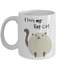 I Love My Fat Cat 11oz. Mug