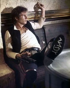 Harrison Ford as Han Solo in Star Wars, with a nod to Toy Story on his sole. Disney Star Wars, Disney Pixar, Disney Bound, Walt Disney, Disney Nerd, Disney Movies, Toy Story, Star Trek, Humour Geek