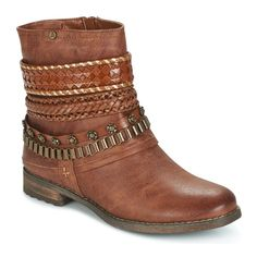 Chaussures Femme Boots Bullboxer STACEY Cognac