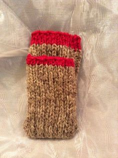 Smart knitted phone sock with a front pocket for headphones. Ipod, Phone, Socks, Handmade, Etsy, Telephone, Ipods, Sock, Stockings
