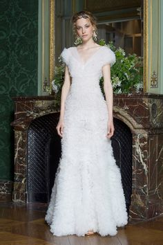 """Alberta Ferretti. Limited Edition 2016. The """"demi-couture"""" collection walks the line between Ferretti's signature luxe bohemian look and the opulent Haute Couture evening wear looks currently being shown in Paris this week. 