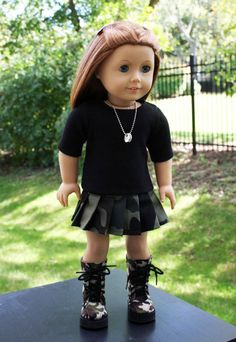 American Girl Doll Clothes  Military Outfit by sewurbandesigns