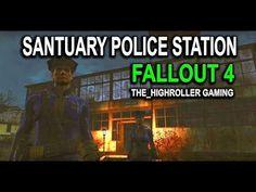#FALLOUT4 #POLICESTATION TOUR - SANCTUARY SETTLEMENT BUILD - YouTube