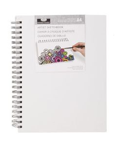 Canvas Cover Sketchbook for $7.99 available at www.ArtistsClub.com