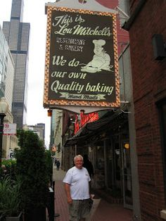 Lou Mitchell's Restaurant, formerly on Route 66 - Chicago, Illinois