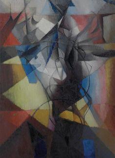 """""""L'Acrobate"""", by Jacques Villon (1913)"""