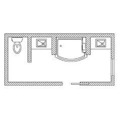 KOHLER | Floor Plan Options | Bathroom Ideas & Planning | Bathroom | 15'x6'