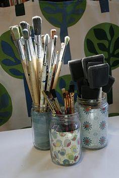 Great idea for art supplies