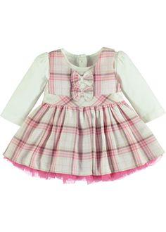 26c0b592181 Girls Check Print Prom Dress and Top Set (Newborn-18mths) - Matalan Check