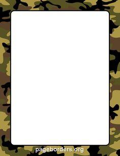 Camouflage Border