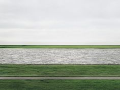 Andreas Gursky, Rhine II, 1999, most expensive photograph, $4.3 million