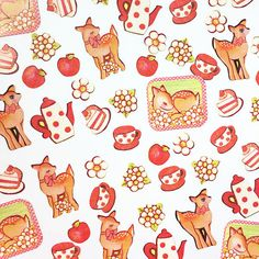 Size: 10*8cm  Qty: 1 set 70 Sheets These cute stickers is great for making cards, special mailings or scrapbooking. Deco your own diary, cup,