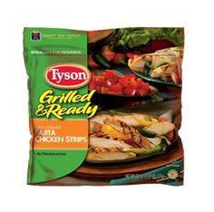 Tyson: Better For You Products, Fajita Chicken Strips - yes, please! #NuggetSmiles