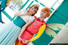 Thumbelina and Prince Cornelius
