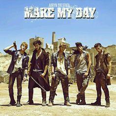 Auryn: Make my day (CD Single) - 2013.