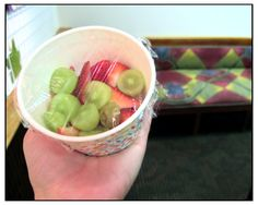 Adorable fruit cups are great alternatives to a refined sugar overload!