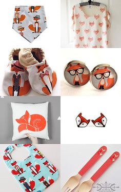 Mr FOX by Handmade Kids on Etsy--Pinned with TreasuryPin.com