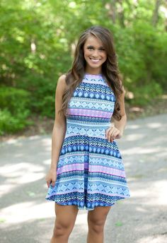 The Pink Lily Boutique - Drive Me Crazy Dress, $38.00 (http://thepinklilyboutique.com/drive-me-crazy-dress/)