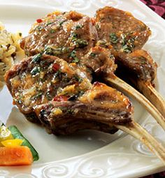 Recipes from The Nest - Thai-Style Lamb Chops