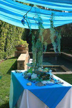 nicole- mermaid center piece?  Ocean themed party