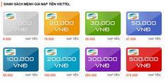 Card Viettel là sản phẩm card điện thoại của nhà mạng Viettel phát hành ra thị trường có các mệnh giá từ 10k đến Card Viettel 500K. Đây là sản phẩm đáp ứng nhu cầu nạp tiền cho thuê bao điện thoại của người sử dụng nhằm giúp khách hàng duy trì thời gian sử dụng các dịch vụ viễn thông, mạng di động của nhà mạng Viettel cũng như các mạng khác.