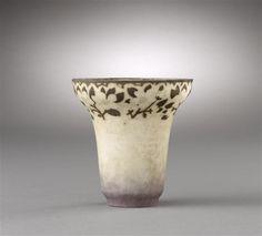 Albert Dammouse (1848-1926). Vase. s.d. Pâte de verre. Musée d'Orsay - Paris - France