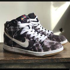 sports shoes ccd15 c29df Nike Shoes   Nike Dunk High Premium Sb Tie-Dye   Color  Black