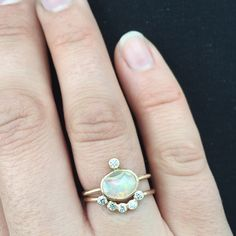 """Opal and diamonds...*collective sigh*"" Photo taken by @mineralogy on Instagram, pinned via the InstaPin iOS App! http://www.instapinapp.com (05/15/2015)"