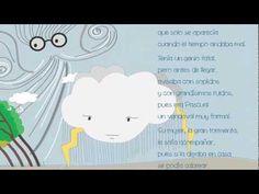 """LA FAMILIA VENDAVAL, del libro """"Rimas, mostrencos, bichos y zopencos"""". Textos, Raquel Ibáñez, ilustraciones de Victoria González. (web de la ilustradora: www.bichoazul.com/)"""