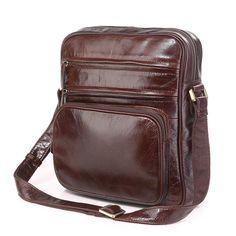 Las 8 mejores imágenes de Mens leather bag | Bolsos de cuero