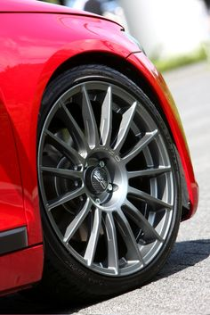 "Superturismo LM 19"" on VW Scirocco #OZRACING #RACING #SUPERTURISMO #RIM #WHEEL"