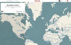 pinterest 2 Comment créer une carte avec #Pinterest