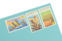 Hawaii Love Stamp Set - Vintage Unused Postage for your wedding, event or every day mailings! Enough to mail 8 letters