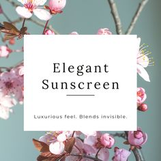 Elegant and sunscreen 🤔These words normally don't go together but we're changing that. You'll love putting on our sunscreen. It feels great on the skin, blends invisible and performs well under makeup.  #skincare #sunscreen