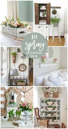 Spring Decorating Ideas Europehomedecoration European Home Decor Cheap Home Decor, Diy Home Decor, Room Decor, European Home Decor, Vintage Home Decor, Rustic Decor, Country Decor, Country Living, Decorating Your Home