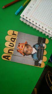"""Proyectos educativos ¡Y más!: Actividad para iniciar la lectoescritura """"Yo soy""""...."""