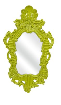 Lime Baroque Mirror, sharing luxury designer home decor inspirations and ideas for beautiful living rooms, dinning rooms, bedrooms & bathrooms inc furniture, chandeliers, table lamps, mirrors, art, vases, trays, pillows & accessories courtesy of InStyle Decor Beverly Hills