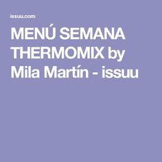"Find magazines, catalogs and publications about ""thermomix"", and discover more great content on issuu. Food And Drink, Cooking, Bellini, Kitchens, Collections, Home, Deserts, Dishes, Weekly Menu"