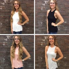 ⓇⒺⓈⓉⓄⒸⓀⒺⒹ in FOUR new colors! Our favorite tank has finally been restocked! We now have white, black, coral, and grey! These will not last long! Grab your favorite color today! - $20 #springfashion #basic #tops #spring #newarrivals #restocked #ootd #apricotlanedesmoines #shoplocal #shopalb #apricotlane #distresseddenim #flyingmonkey