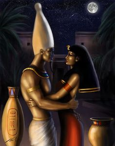 Osiris And Isis  #Kings and #Queens #Heritage